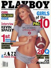 PLAYBOY OCTOBER 1999 Jennifer Rovero Jodi Patterson Kevin Spacey Run DMC Pac 10
