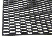 BLACK ABS 120cm x 40cm HONEYCOMB GRILLE GRILL MESH VENT 120 40 cm gril profiled