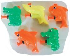 12 MINI SEA ANIMAL SQUIRT GUNS small toys #055 water gun squirting animals toy
