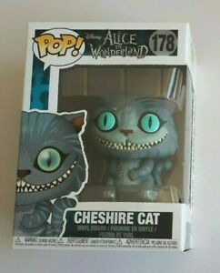 Funko Pop! Vinyl Figure Disney  Alice In Wonderland - Cheshire Cat 178 NEW 2010