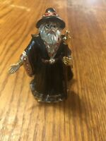 Wizard Merlin Metal Figurine