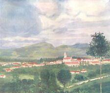 BRAZIL. Porciuncula 1908 old antique vintage print picture