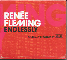 RENEE FLEMING Endlessly MUSE REMAKE COVER w/ MUSE LOGO PROMO CD Single SEALED