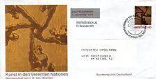 Ersttagsumschlag - Kunst in den Vereinten Nationen - 1972