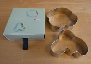 Set Of Two iittala Finland Alvar Aalto Collection Cookie Cutters (BNIB)