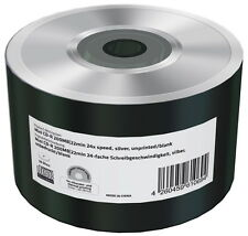 100 Mediarange Rohlinge CD-R Mini silver blank 22Min 200MB 24x Shrink