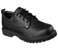SKECHERS Tom Cats Oxford Black Men's Size 8.5