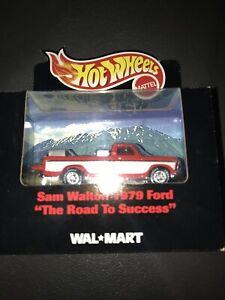 "1999 Hot Wheels Sam Walton 1979 Ford ""The Road To Success"" Truck"