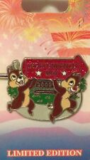 Disney 4th July Independence Day 2009 Chip & Dale With Fireworks 3-D Pin LE 2750