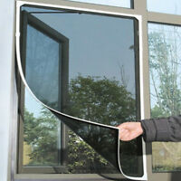 Window Mesh Door Curtain Snap Net Mosquito Fly Bug Insect Screen