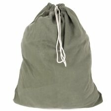 "Authentic Us Military Barracks Bag Olive Drab Color Drawstring Closure 23"" x 31"