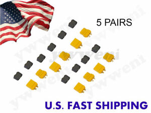 5 pairs Amass XT60H XT60+ Male Female Connector Plug for Battery ESC & Charge Le