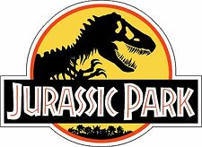 Jurassic Park Decal Vinyl Wall Logo Jeep Safari Dinosaur Park 4 Stickers