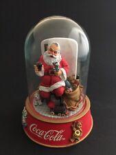 Vintage Coca Cola Limited Edition Santa Coke Collectable Franklin Mint Figurine