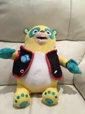 Disney Walt Parks Special Agent Oso Plush Soft Toy Yellow Teddy Bear Watch