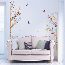 DIY Trees Birds Removable Mural Vinyl Decal Wall Sticker Art Living Room Decor
