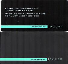 JAGUAR X-Tipo Approvato AUTO USATE 2010 mercato britannico Mailer Opuscolo