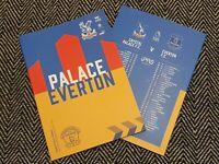 Crystal Palace v Everton PREMIER LEAGUE Match Programme 26/9/20! READY TO POST!!