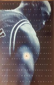 "Vintage 1997 NIKE ""DREAM"" Michael Jordan Poster New Sealed #5522"