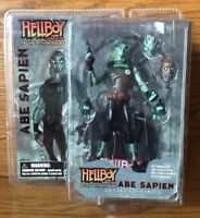 Hellboy Animated Deluxe - Abe Sapien Action Figure Moc Gentle Giant 2007 Rare