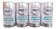 4 x SoftSheen Carson Magic Razorless Hair Remover Shaving Powder Skin Conditioning - Platinum