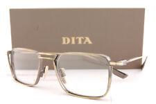 Brand New DITA Eyeglass Frames LINDSTRUM DTX 125-51-02 Antique White Gold Men