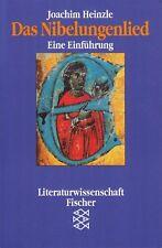 *o- Das NIBELUNGENLIED - eine EINFÜHRUNG - Joachim HEINZLE tb (1996)