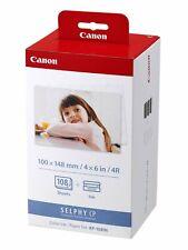 Canon kp-108in papel + cinta! 108 imágenes en 10x15 F. selphy cp810, cp900