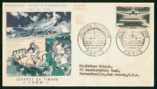 Mayfairstamps France FDC 1959 Airplane on Runway Loading Mail First Day Cover ww