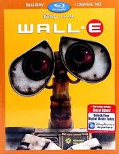 Disney Pixar WALL E (Blu-Ray+Digital HD; 2016)   FACTORY SEALED w/SLIPCOVER+NEW!