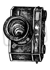 A7 'Classic Camera' Unmounted Rubber Stamp (SP00004498)
