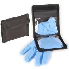 PT8 Protec Police Black Nitrile Glove Belt Pouch Holder
