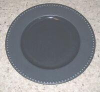 "Dansk RONDURE INDIGO Blue 11"" Dinner Plates Set of 2"