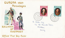 Guernsey 1980 Europa Personages Sark CDS VGC