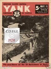CD File YANK 1945 Western Pacific Saipan Ryukyu V2 in Antwerp Bob Krell Okinawa