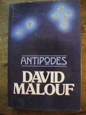 Antipodes - David Malouf - Australian Short Stories - 1985 1st Edition - Hc/Dj