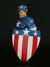 CAPTAIN AMERICA WWII MINI-BUST BY BOWEN DESIGNS, SCULPTED BY RANDY BOWEN