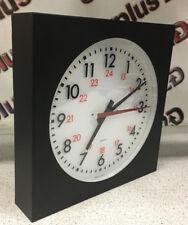 """Leitch 12"""" Studio Clock *No Light 3"""" Wide"""