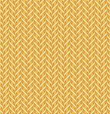 Joel Dewberry Heirloom Ribbon Lattice Fabric in Amber JD57