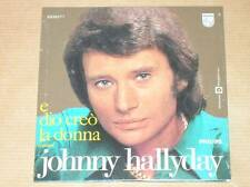 CD 2 TITRES / JOHNNY HALLYDAY / E DIO CREO LA DONNA / NEUF SOUS CELLO