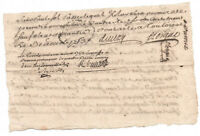 1753 KING LOUIS XV prosecutor and Marquis autograph manuscript trail letter