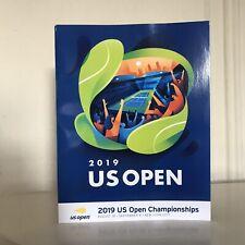Day 8 2019 US OPEN TENNIS Program Magazine w/ Nadal Draw Sheet Zverev Poster