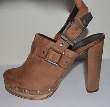 Top Shop Premium Platform LEATHER HEELS Shoe Boggers Fave SZ 39 US 8.5