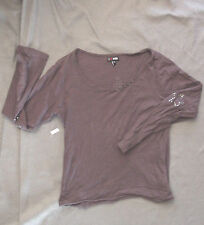 T-Shirt manches longues fille L.F.M. - Taille 1, environ  12/14 ans