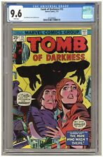 Tomb of Darkness 15 (CGC 9.6) Ron Wilson & Vince Colletta cover Marvel 1975 B584