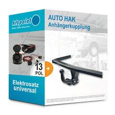 VW Caddy III / Life 04- AUTO HAK Anhängerkupplung starr + 13polig E-Satz AHK neu