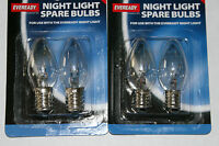 Pack of 2 7wt E14 (SES )or E12 ( MES) Night Light Replacement Bulbs