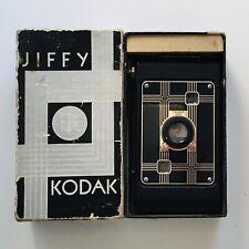 Vintage KODAK JIFFY SIX-20 Art Deco Design  Camera in Original Box