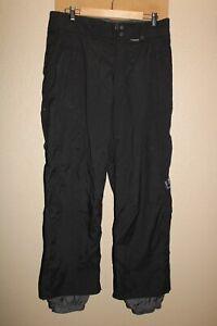 "BURTON Mens medium 32-34""W 30""L Insulated Nylon Snow/Snowboard Pants"