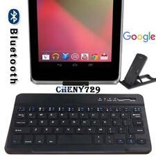 Para Google Nexus 7 9 tableta SLIM teclado inalámbrico Bluetooth + Soporte Soporte